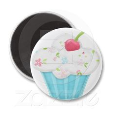 Cupcake Magnet from Zazzle.com