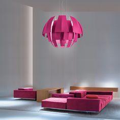 Big Cloth Modern Suspension Light Restaurant and Commercial Shop Pendant Lamps