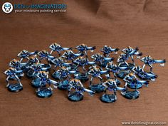 Sapphire Necron Army | Flickr - Photo Sharing!