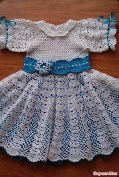crochet white baby dress, | make handmade, crochet, craft