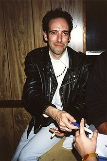 "Michael Geoffrey ""Mick"" Jones (born 26 June 1955) is a British musician, guitarist, vocalist and songwriter best known for his works with the Clash until his dismissal in 1983, then Big Audio Dynamite with Don Letts before line-up changes led to the formation of Big Audio Dynamite II and finally Big Audio. Jones plays with Carbon/Silicon along with Tony James and recently toured the world as part of the Gorillaz live band (which includes former Clash member Paul Simonon). In late 2011..."