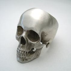 Awesome #silver #skull #ring