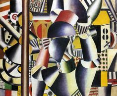 Fernand Leger - Acrobats in the circus (valo / varjo taustaa). Georges Braque, Pablo Picasso, Gif Sur Yvette, Arte Pop, Naive Art, French Artists, Art Blog, Canvas, Modern Art
