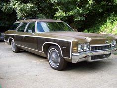 How we rolled... 1972 Chevrolet Kingswood Estate Station Wagon.