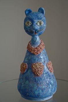 #ceramic #handmade #heykey #mask #maske #sculpture #seramik #elyapımı #kedi #cat #vazo #vase