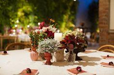 mesa com menu e guardanapo. Casamento no Manioca | Mariana + Paulo | Vestida de Noiva | Blog de Casamento por Fernanda Floret