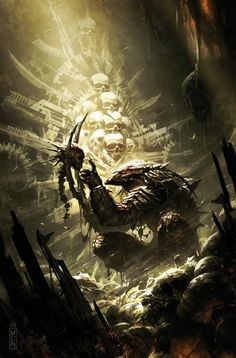 Badass Artwork for ALIENS and PREDATOR by Raymond Swanland