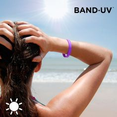 If you're worried about your family's well-being and want to protect the little ones from the sun's rays, the Band·UV UVA rays indicator wristband is a pract. Uva Rays, Abs, How To Apply, Wellness, Beauty, The Originals, Bracelet, Hair Styles, Instagram