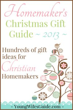 All of my hand-picked favorite gifts for #homemakers! Get inspiration for giving gifts or pass it along to your hubby!