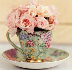 Reverent Womanhood: Tea Time with GOD: The Tea Cup Story