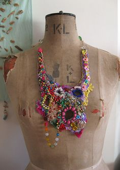 JamAfrica necklace by AllThingsPretty, via Flickr