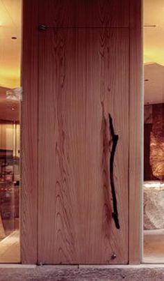 Grand Hyatt Tokyo by SUPER POTATO Steel Doors, Wood Doors, Door Design, House Design, Door Entryway, Door Detail, Modern Door, Entrance Gates, Japanese House