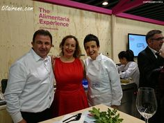 Chef Martin Berasategui, Irene Morcillo (tita irene) and Chef Carme Ruscalleda, April 2014