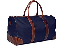 Do want even more. - Suitsupply Blue Duffel Bag - $449