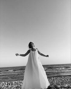 Seaside, One Shoulder Wedding Dress, Cool Outfits, Editorial, Sport, Wedding Dresses, Summer, Photos, Inspiration