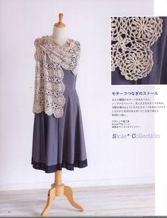 Crochet Shawls  Stoles 2014 - 紫苏 - 紫苏的博客
