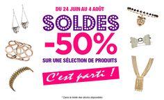 Les soldes d'été débarquent en force chez Elodie Cohen ! -50% sur une sélection de produits du 24 Juin au 4 Août !  Rendez-vous sur www.elodiecohen.com