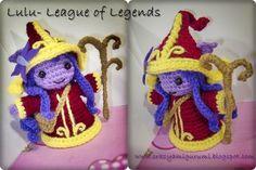 Lulu - league of legends amigurumi by zulemax on deviantART