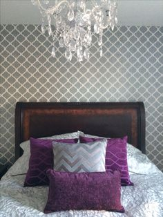 Our beautiful master bedroom