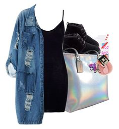 """#50: Girl you cold"" by chilly-gvbx ❤ liked on Polyvore featuring Valfré, UGG, Coach, Boohoo, Chicnova Fashion and MICHAEL Michael Kors"