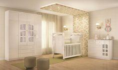 Berço mini cama 2 em 1 Nanda: design e funcionalidade