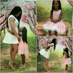 Mother and daughter shoot def ganna do with my princesses love the theme of course Mother Daughter Photos, Future Daughter, Daughter Love, Future Baby, Mother Daughters, Mother Son, Black Is Beautiful, Beautiful Family, Beautiful People