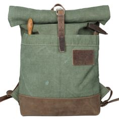Roll top rucksack backpack