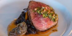 Looks good enough to eat - oh wait, you can! Make a reservation at Joseph Decuis!