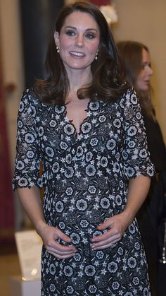The Duchess of Cambridge and Sophie, Countess of Wessex at the Commonwealth Fashion Exchange reception - 9Honey