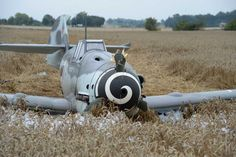 """Fortunately red 7 is flying again."" KB Messerschmitt Bf 109 Crash in France"