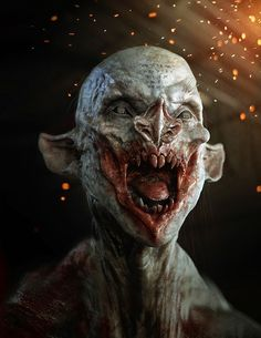 dirt devil by Maarten Verhoeven | Horror | 3D | CGSociety