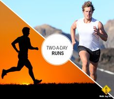Running two times per day is typical practice for elite runners. That's how they can log 70+ miles per week without running long each time. But everyday runners can also benefit from two-a-days. Running twice per day may help: Boost your metabolism. After each run, our resting metabolic rate spikes which help spark weight loss.…