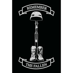 Remember The Fallen Decal - x Military Drawings, Military Tattoos, Army Tattoos, Soldier Tattoo, Remember The Fallen, Police Officer Gifts, Silhouette Cameo Projects, Military Art, Military Police