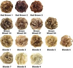 The GlamTouché Elastic Messy Bun Hairpiece is the perfect accessory for any hair color, length, or texture, creating the look of instant volume and limitless styles. Face Shape Hairstyles, Messy Hairstyles, Hairdos, Curly Hair Styles, Natural Hair Styles, Perfect Messy Bun, Long Thin Hair, Thick Hair, Bun Updo