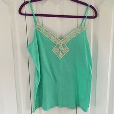 Embroidered Tank Top A American Eagle Outfitters Tops Tank Tops