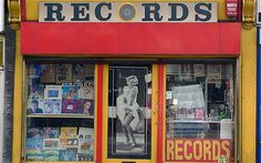 London's local shop fronts - Telegraph -  Records, Lee High Road SE13