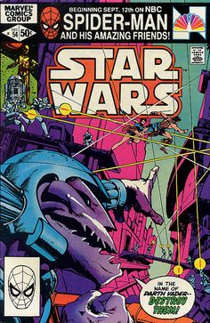Items similar to Star Wars Marvel Comics Comic Book,Vintage Star Wars Comic Collectable,First Series Star Wars,Original Star Wars Comic Book Series on Etsy Star Wars Comic Books, Star Wars Comics, Marvel Comic Books, Star Wars Art, Star Trek, Clone Wars, Han Solo And Chewbacca, Darth Vader, Dc Movies