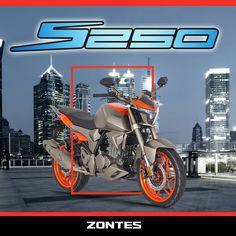 Geleceğin ruhundan esinlendi, senin için tasarlandı ve şimdi karşında; #Zontes S250 www.zontes.com.tr