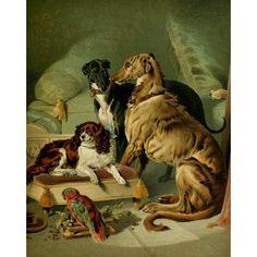 The Shepherds Dog 1870 Dash Hector Nero Lory Canvas Art - Edwin Landseer (18 x 24)