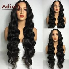 SHARE & Get it FREE   Adiors Middle Part Long Wavy Synthetic WigFor Fashion Lovers only:80,000+ Items·FREE SHIPPING Join Dresslily: Get YOUR $50 NOW!