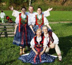 Valašsko - costumes from South Moravia, Czech Republic