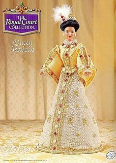 Queen Isabella, Royal Court Collection crochet patterns