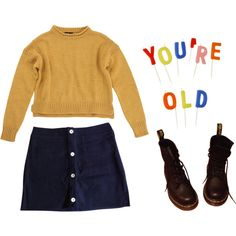 """""""you're old"""" by bagalamukhi on Polyvore"""