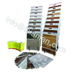 WWD041 Waterfall Hardwood Floor MDF Display Stand