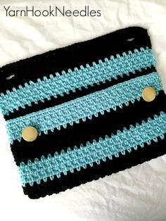 Handmade Crochet Clutch Handbag Crochet Bag by YarnHookNeedles