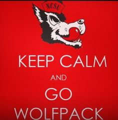 """Hate the """"keep calm"""" trend, but Pack pride... all day!"""