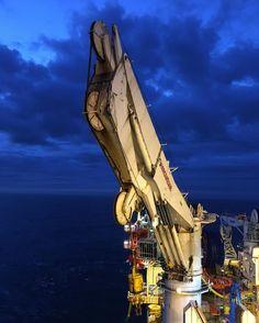 #scottland #kraken field #offshore #fantastic #night #shift #exploringglobe #landscapeofnorway #nrkvestfold #nortrip #dreamchasersnorway #offshorelife #northseagigant #vessel #fantastic #blue #sky #clouds by siv_lea
