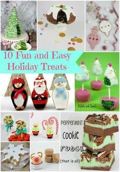10 Fun and Easy Christmas Treats to make