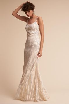 dazzling details | Stasia Gown from BHLDN