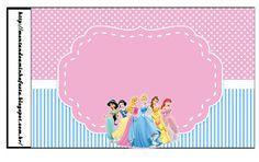 <center> kit para imprimir grátis princesas Disney</center> | Montando minha festa